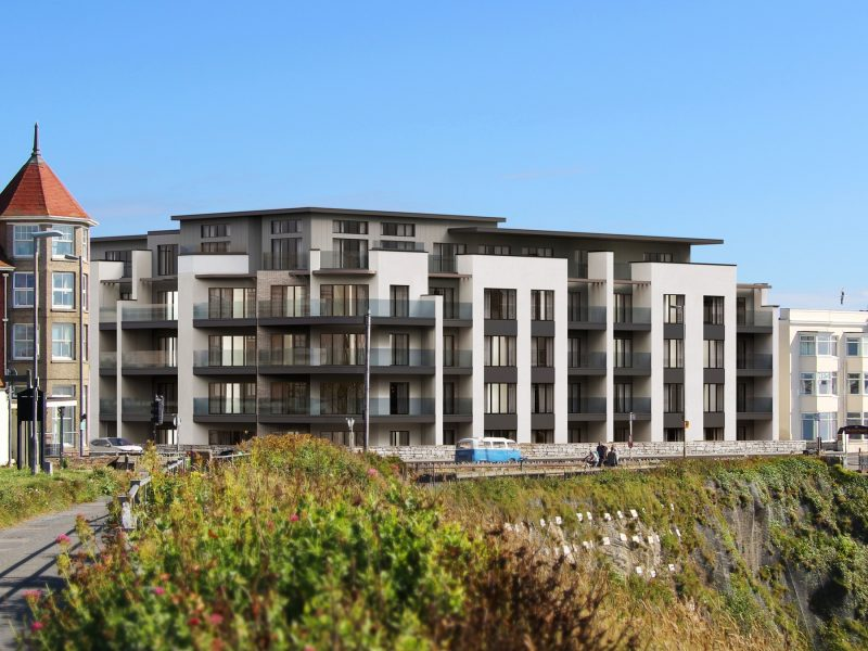 Stephens and stephens Developers Cornwall Cliff Edge Luxury Apartments Narrowcliff Newquay Cornwall banner 2000x1350