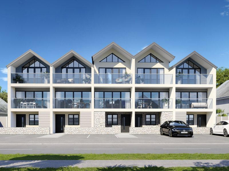 Stephens and Stephens Developers Breakwater Townhouses Pentire Avenue Newquay Cornwall