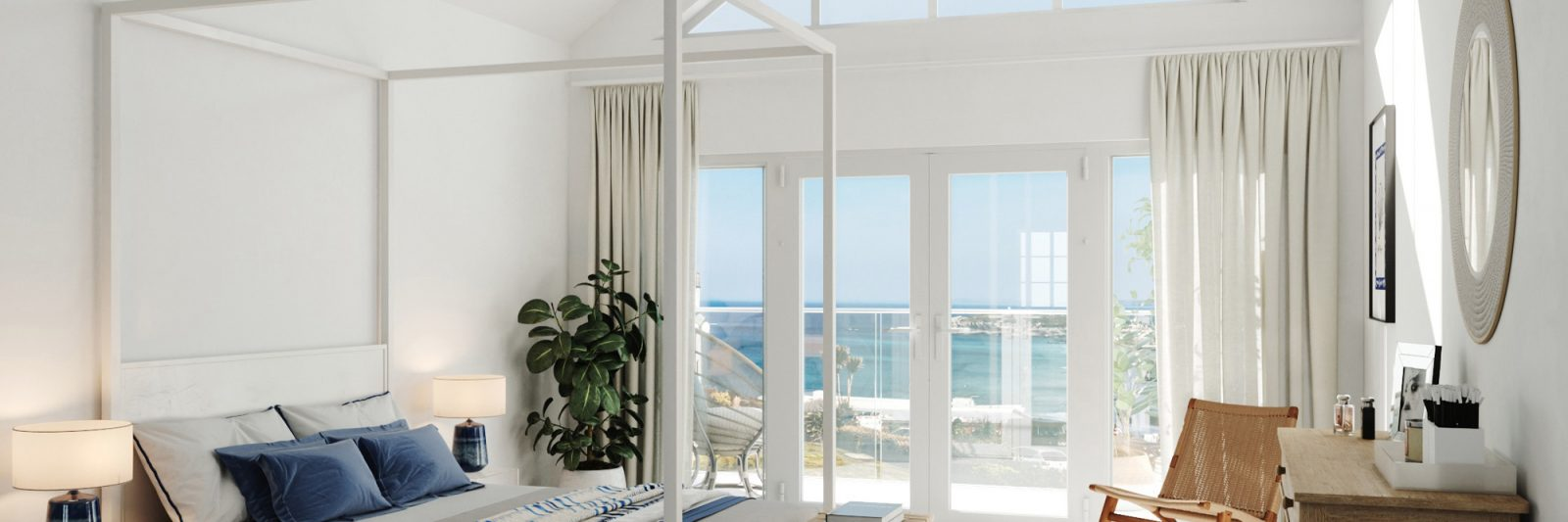 Stephens and stephens Developers Breakwater Pentire Avenue Newquay Cornwall Interior