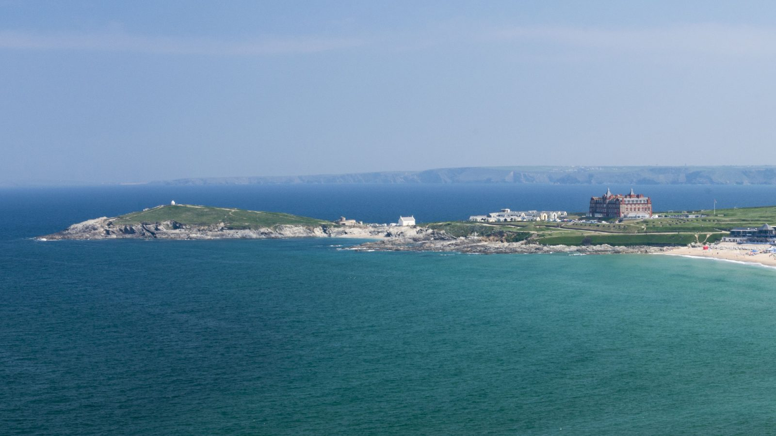 Stephens and stephens Developers Breakwater Pentire Avenue Newquay Cornwall view