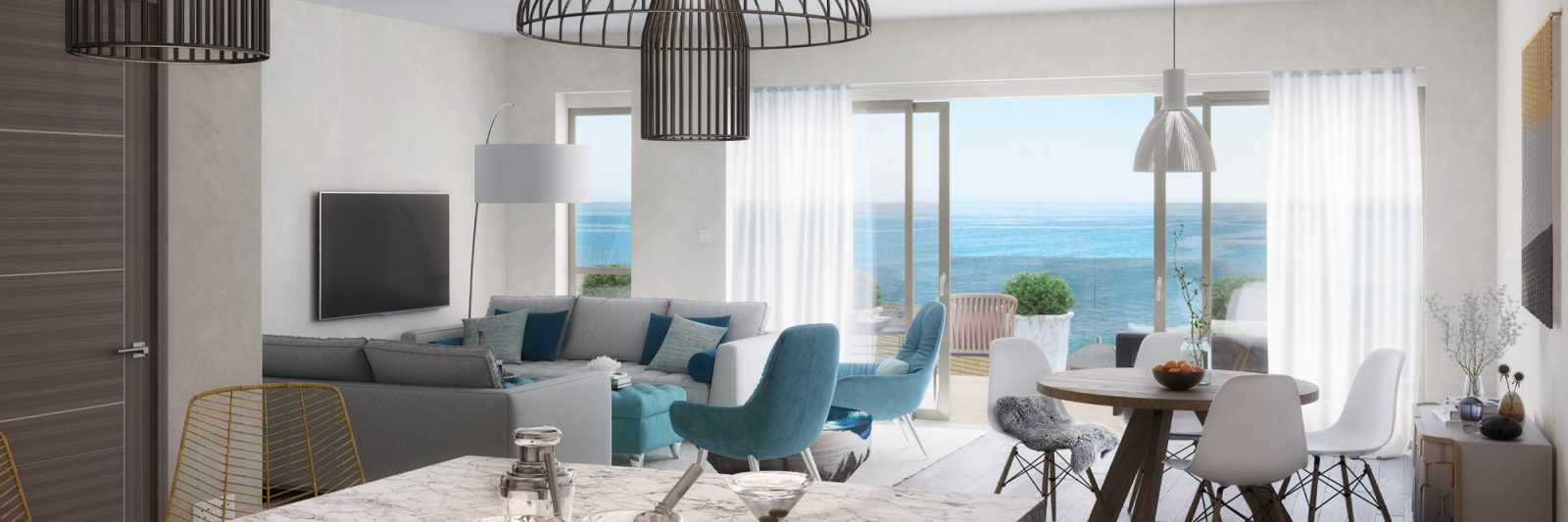 Stephens and stephens developers saltwater pentire newquay cornwall cgi interior 2000x1350