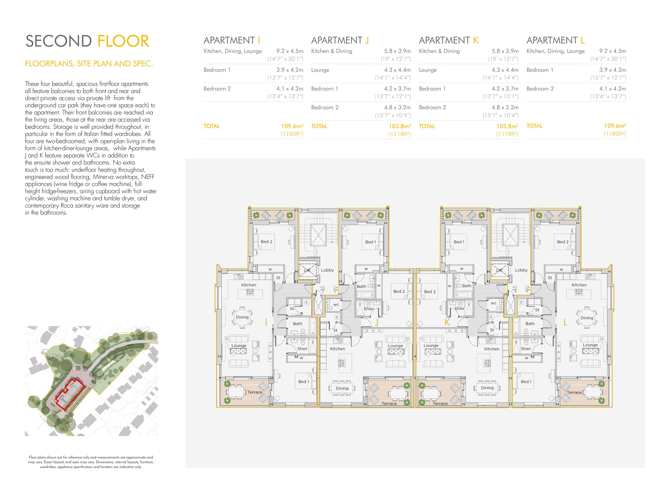Stephens and stephens developers The Hideaway Truro cornwall Floorplans 1200x900 second floor