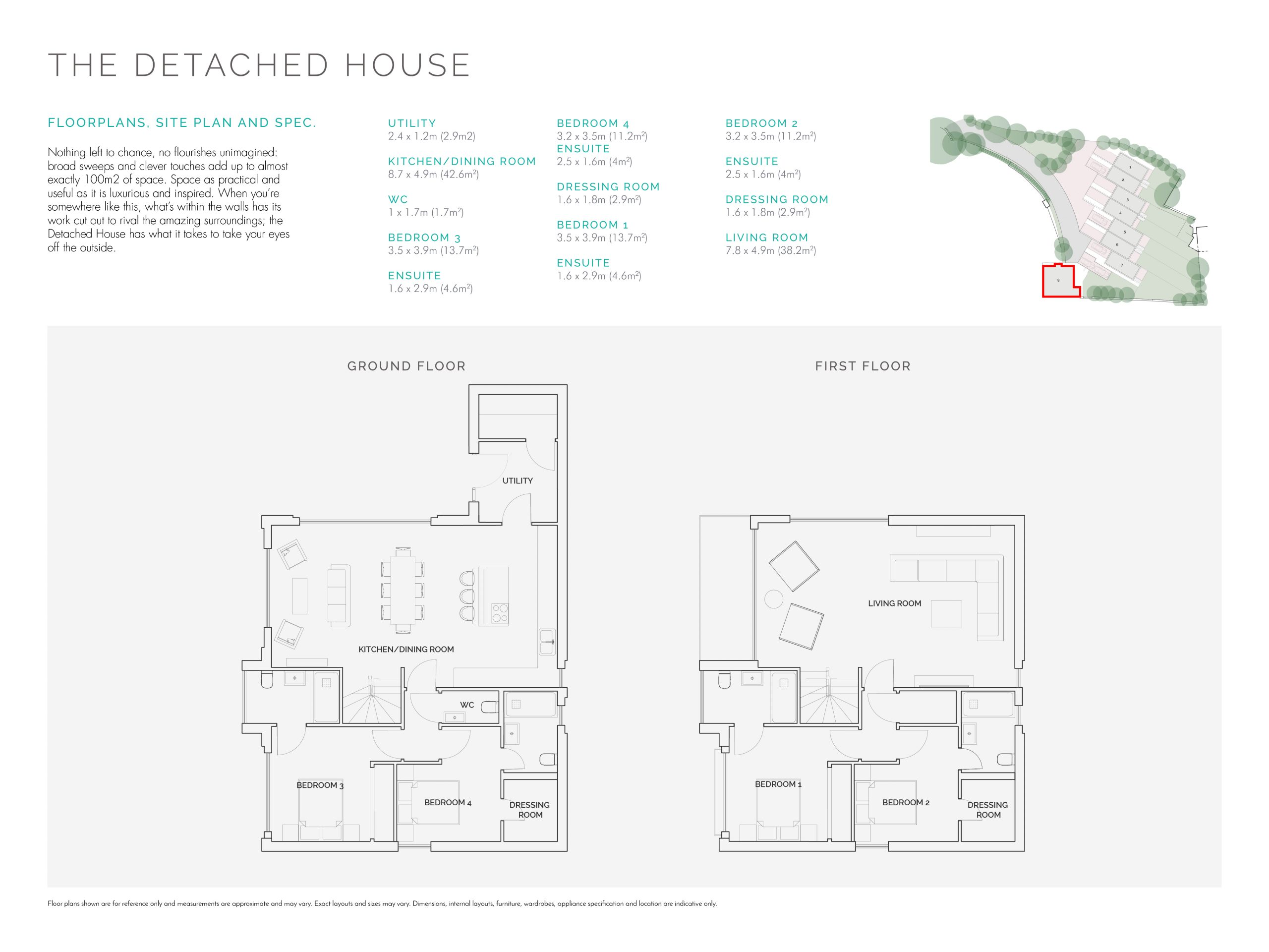 Stephens and stephens developers The Strand porth newquay cornwall Floorplans 1200x900 The detached house