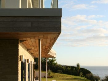 Stephens and stephens developers blue point gorran haven cornwall balcony side view