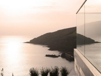 Stephens and stephens developers blue point gorran haven cornwall balcony view reflection